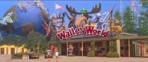 KevinEKline.com SQLVacation Walley World Entrance Flags from 1983