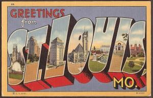 KevinEKline.com St Louis postcard